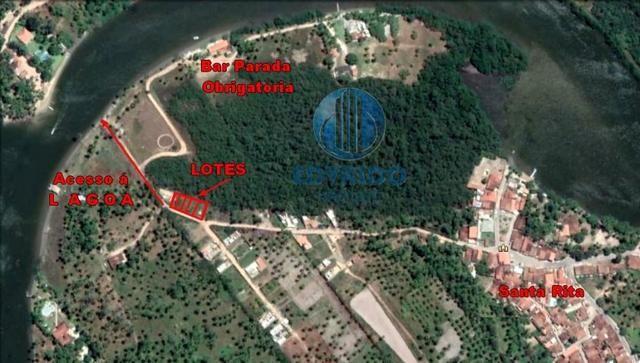 Lotes - Ilha de Stª Rita - Com Acesso á Lagoa - Foto 2