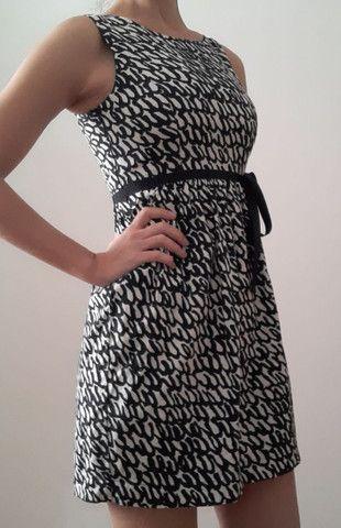 Vestido Zara XS (tam 36)com forro e cinto - Foto 4
