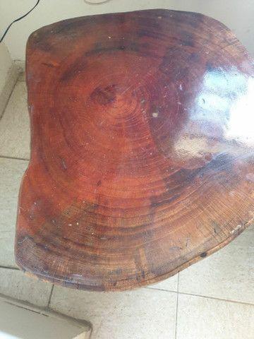 Mesa e peças em madeira maciça  - Foto 3