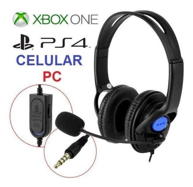 Headset Gamer Feir Para Ps4, Xbox One, Pc, Celular - Loja Natan Abreu - Foto 3