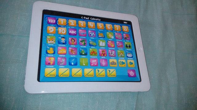 Baixei Tablet Infantil Brinquedo com Defeito Apenas R$ 15,00 - Foto 2