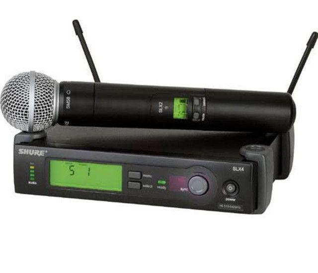 Microfone Shure SLX beta58 - Foto 2