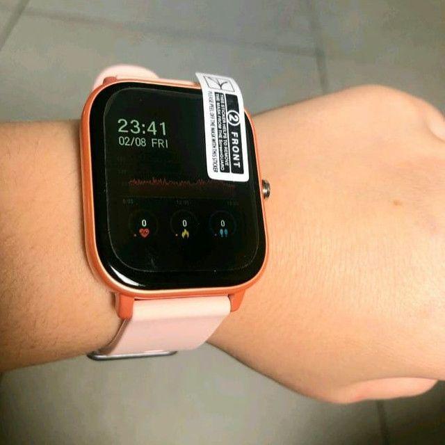 Smartwatch P8 relógio inteligente novo  - Foto 5