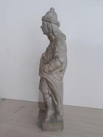 Profeta Baruc em pedra sabão  - Foto 2