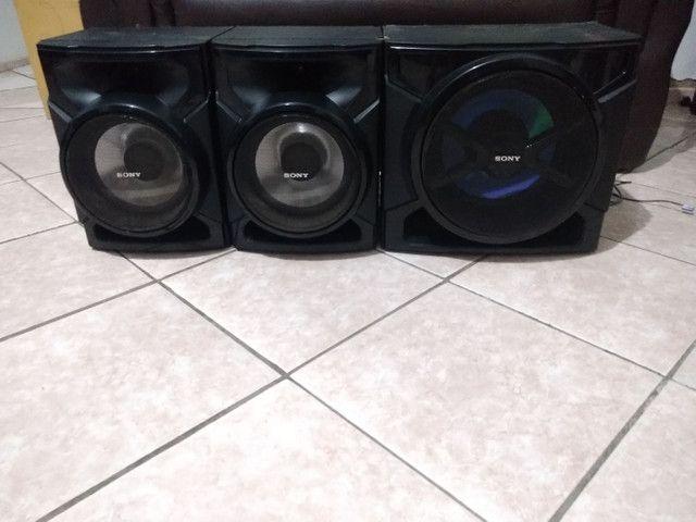 Conjunto de Caixas+ Subwoofer 3000 Watts Sony GTR555 - Foto 2