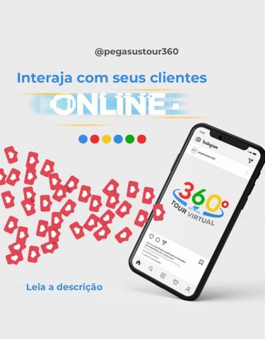 Tour virtual 360° diretamente no Google  - Foto 2