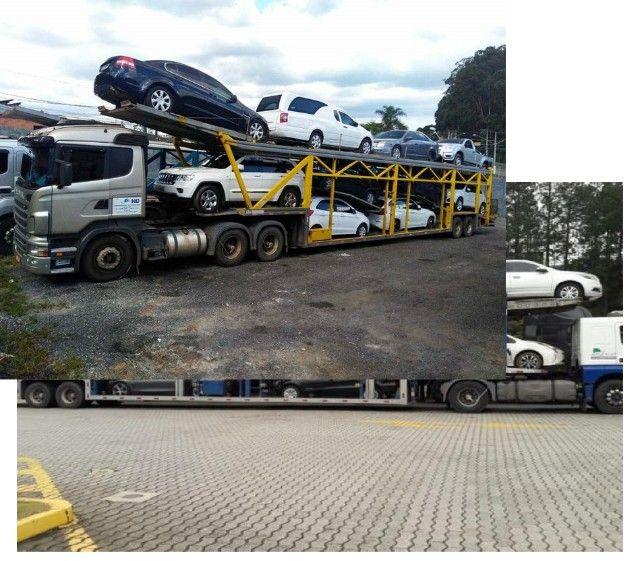 Ponto P transporte_cegonha caminhoes  para transporte carros motos etc com seguro - Foto 3