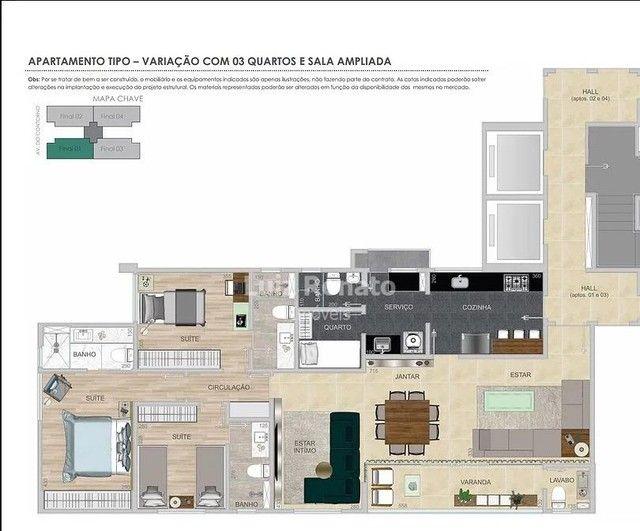 Apartamento à venda 4 quartos 2 suítes 4 vagas - Santa Efigênia - Foto 3