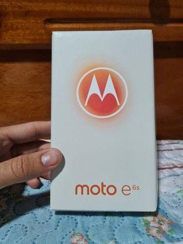 Motorola E6s 32G NOVO NA CAIXA (Azul Navy)