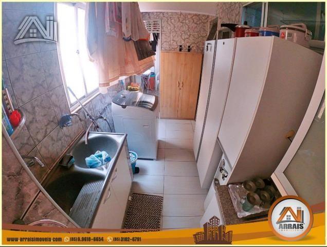 Apartamento à venda, 117 m² por R$ 370.000,00 - Vila União - Fortaleza/CE - Foto 6
