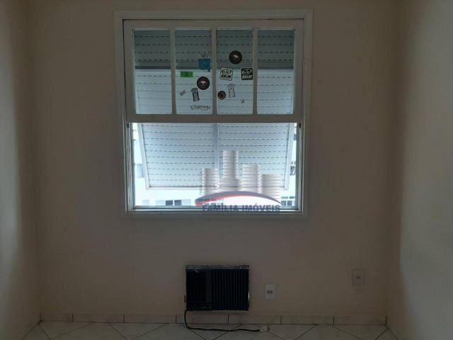 Apartamento com 2 dormitórios para alugar por R$ 1.799,98/mês - Encruzilhada - Santos/SP - Foto 14