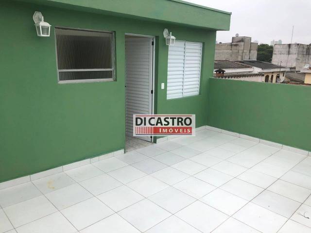 Sobrado com 4 dormitórios para alugar, 195 m² por R$ 2.000,00/mês - Rudge Ramos - São Bern - Foto 3