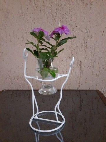 Artesanato - Porta vaso - Foto 6