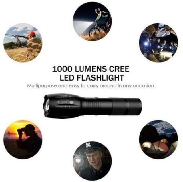 Lanterna Led Tática Xm- L2 Militar 5 Modos Longo Alcance - Foto 2