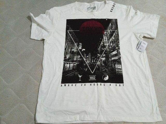 5 Camisetas Masculinas GG  - Foto 3