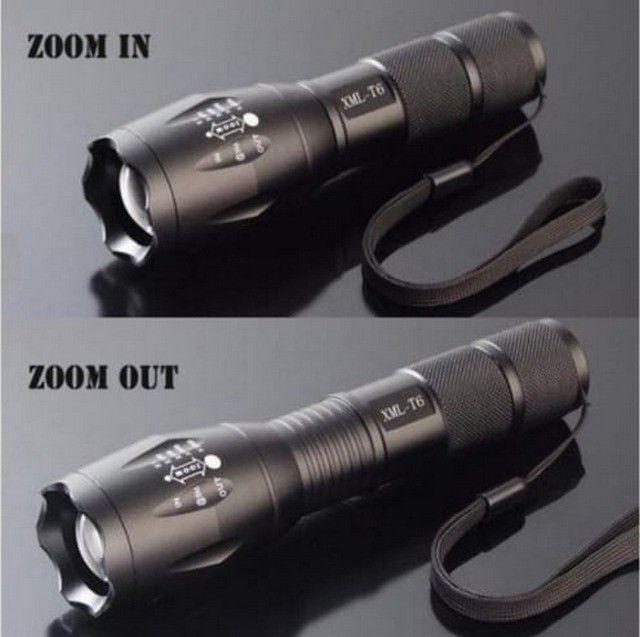 Lanterna Led Tática Xm- L2 Militar 5 Modos Longo Alcance
