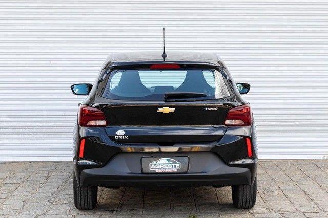 Chevrolet onix hatch at turbo 1.0 2021 *IPVA 2021* - Foto 5