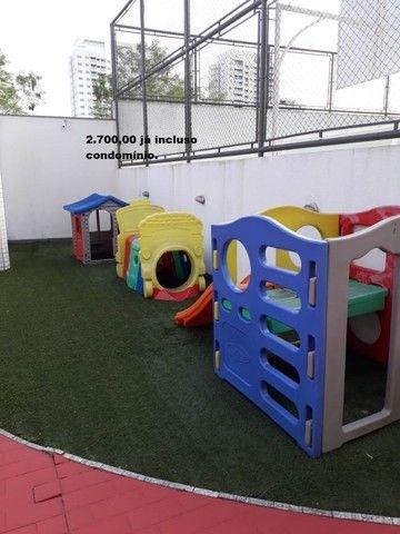 Apartamento com 2 quartos sendo 1 no Aleixo 100% mobiliado.,,;,//- - Foto 19