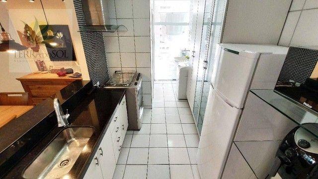 Apartamento com 3 dormitórios à venda, 80 m² por R$ 495.000,00 - Cocó - Fortaleza/CE - Foto 9