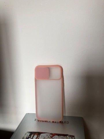 Capinha rosa IPhone 6S