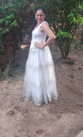 Vestido de noiva - usado apenas uma vez. - Foto 4