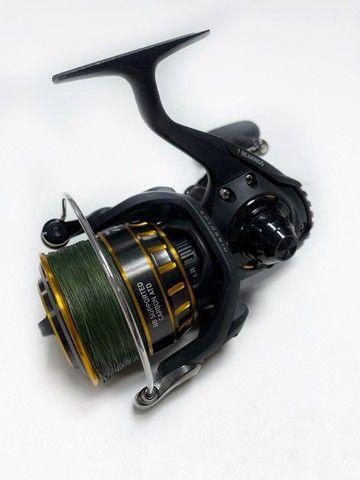 Molinete Pesca Daiwa Bg 5000 - 7 Rolamentos - Drag: 10kgs - Foto 2