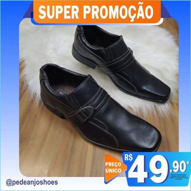Sapato Social Masculino (Novo) - Foto 5