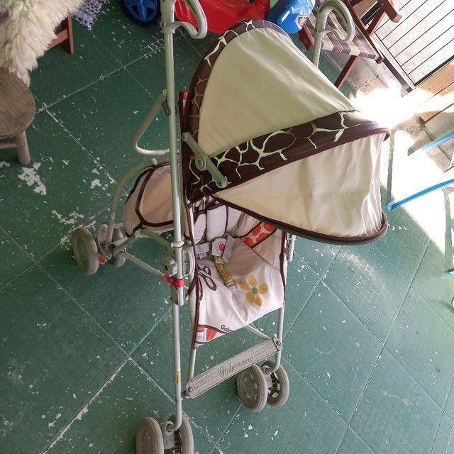 Cadeira criança triciclo carrinho bicicleta  - Foto 5