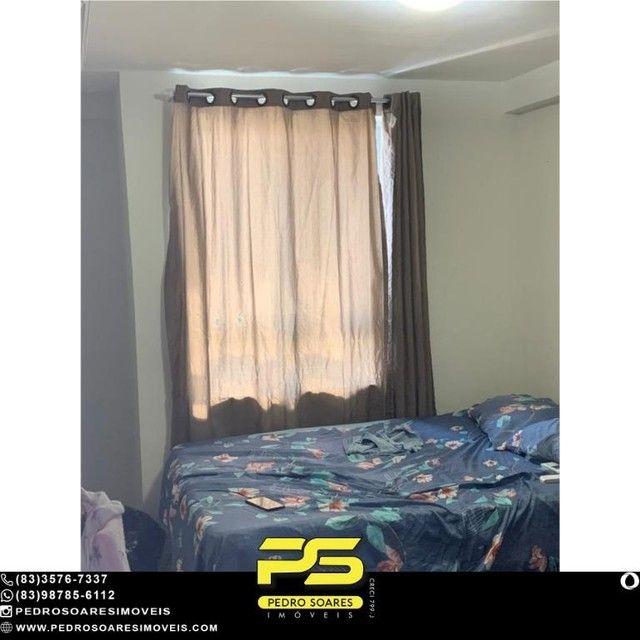 (MOBILIADO) Apartamento com 2 dormitórios para alugar, 60 m² por R$ 2.000/mês - Tambaú - J - Foto 11
