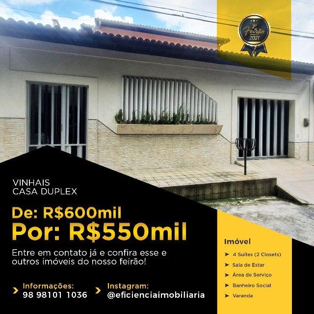 Casa Duplex - Vinhais - Foto 17