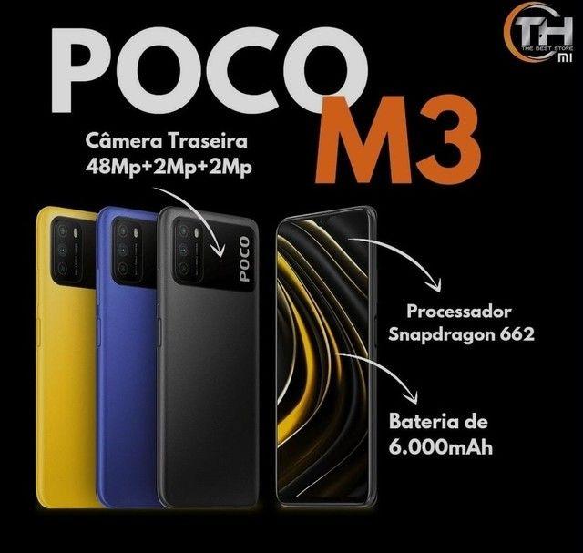Poco M3 128gb/4Gb Melhor preço do Nordeste