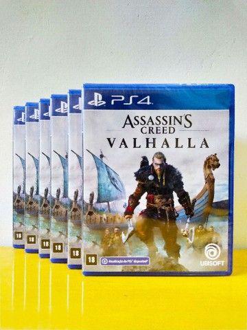 Assassin's Creed Valhalla PS4 (Jogo Lacrado)