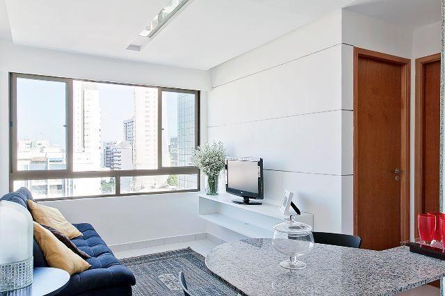 apartamento 1 quarto para alugar com ar condicionado boa