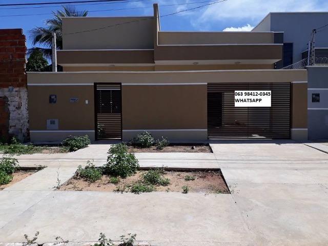 Casa Nova No Centro de Palmas-To Financia Casa Individual 3/4 Próximo Da Av Palmas Brasil