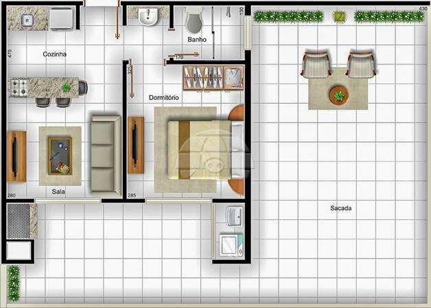 Apartamento à venda com 1 dormitórios em Caioba, Matinhos cod:144662 - Foto 7