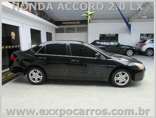 Honda Accord Lx 2.0   Automatico   Ano 2007   Bem Conservado