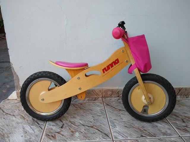 e8bf4fa05 Bicicleta Runna Rosa - Artigos infantis - Jardim Santa Rosa Ii