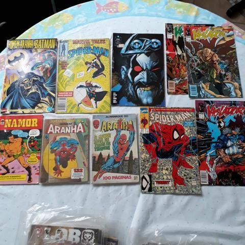 Lote 83 Gibis Diversos Marvel DC Image Nacionais e Americanos - Foto 4