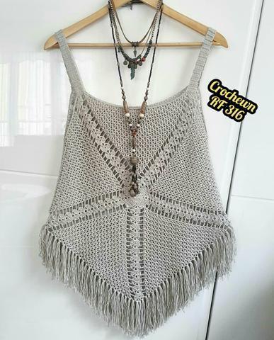 5d2129fd88d6 Linda blusinha de crochê - Roupas e calçados - Trindade