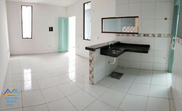 Casas com 2 quartos, suíte com 87m² de área construída na melhor localização do Pedras - Foto 4