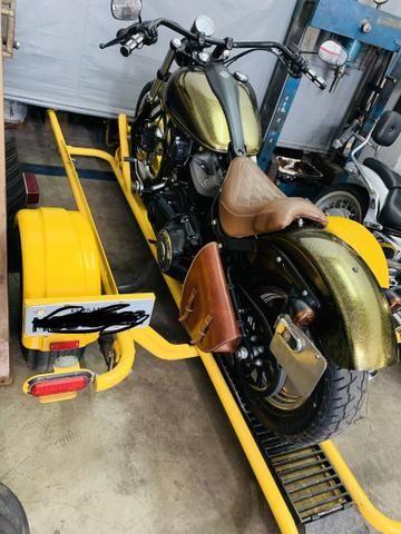 Reboque retrátil para motos! - Foto 3