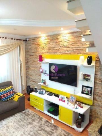 Sobrado com 3 dormitórios à venda, 160 m² - Jardim Imperador - Suzano/SP - Foto 19