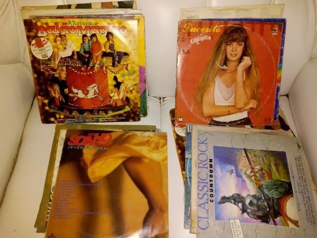 Disco de vinil LP Lote com 110
