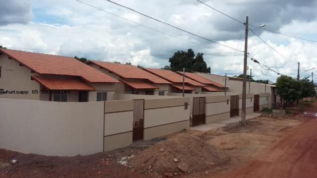 Casa para venda em várzea grande, novo mundo, 2 dormitórios, 1 banheiro, 4 vagas - Foto 7