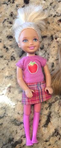 Barbie e Chelsea