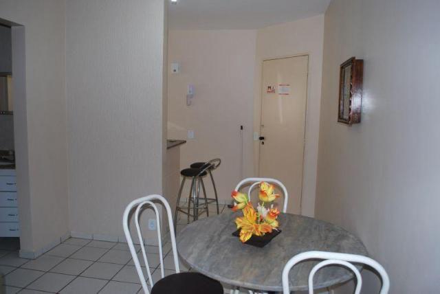Apartamento 1 quarto para temporada em caldas novas, aguas da fonte, 1 dormitório, 1 banhe - Foto 17