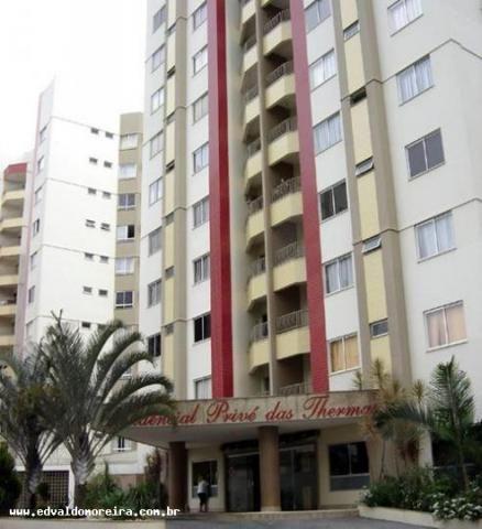 Apartamento 2 quartos para temporada em caldas novas, prive das thermas i, 2 dormitórios, - Foto 5
