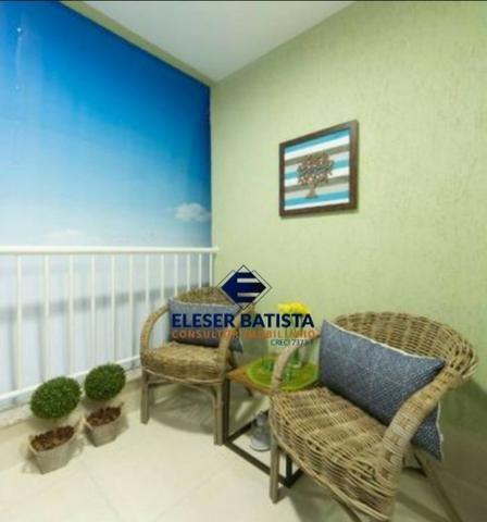DWC - Apartamento Veredas Buritis 2 Quartos c/ suite Colinas de Laranjeiras - ES - Foto 11