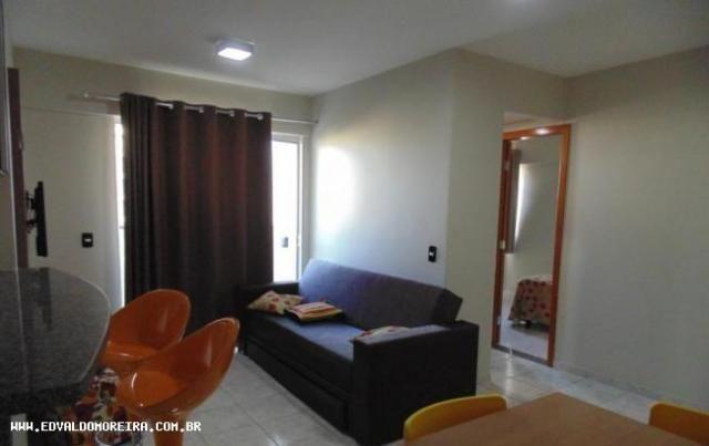 Apartamento 1 quarto para temporada em caldas novas, cezar park, 1 dormitório, 1 banheiro, - Foto 16