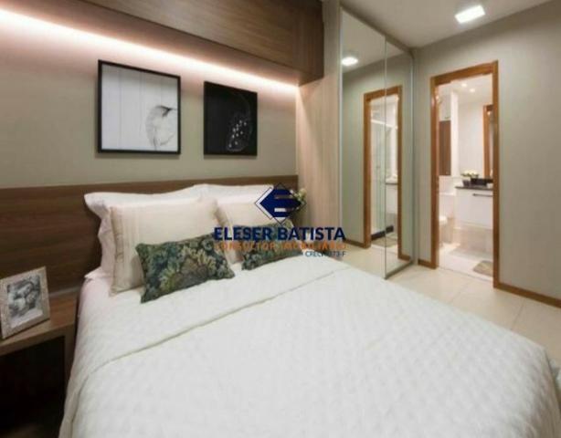 DWC - Apartamento Veredas Buritis 2 Quartos c/ suite Colinas de Laranjeiras - ES - Foto 4